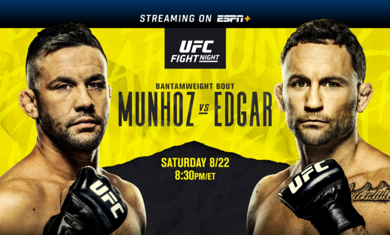 What To Expect From UFC Fight Night: Munhoz vs Edgar