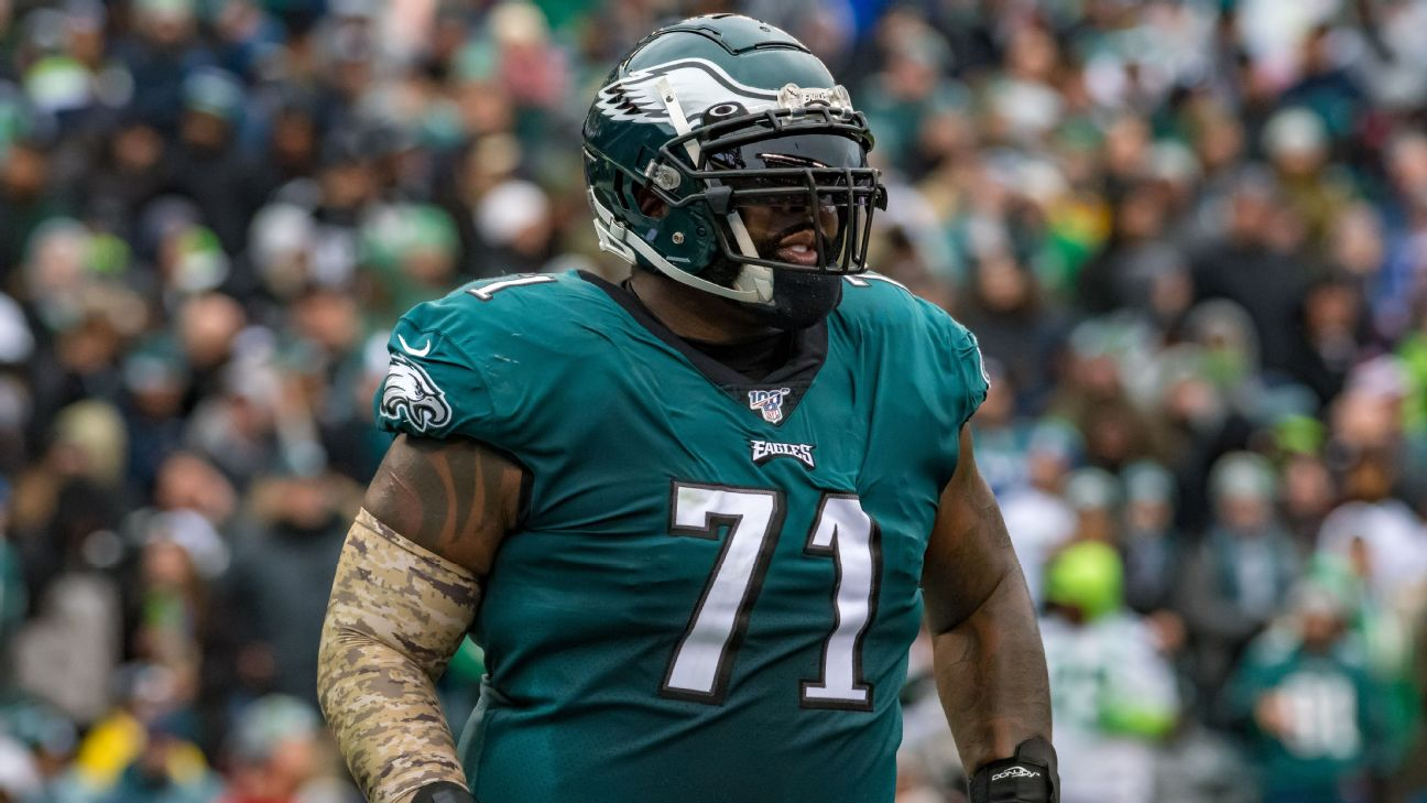 Jason Peters Gets His Wish, And His Money