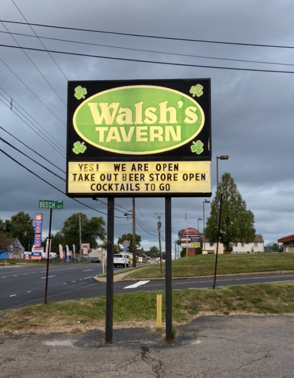 Walsh's Wing Review: Walsh's Tavern