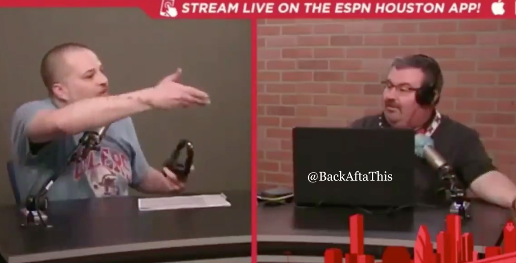 (Video) ESPN 97.5 Houston Radio Hosts Get Into A Shouting Match On Air And It's Outstanding