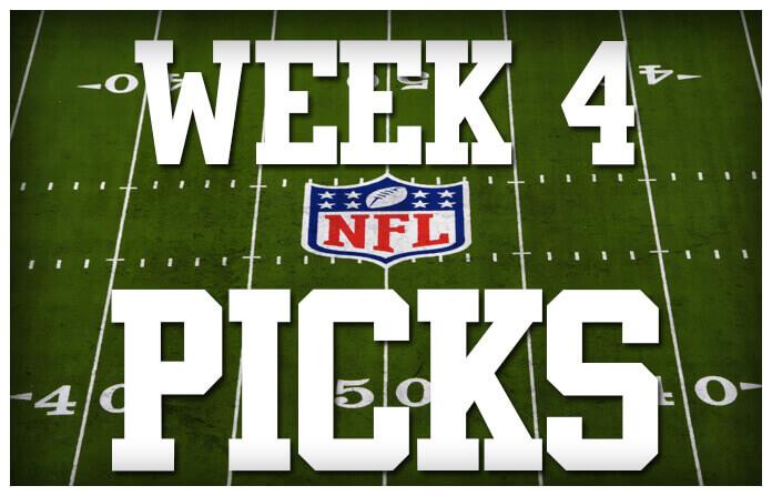 Walsh's Winner's(NFL Week 4 Picks)