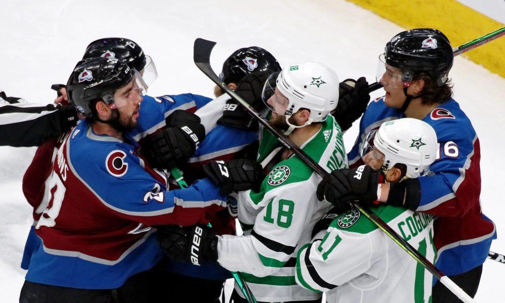 Dallas Eliminates Colorado In Seven