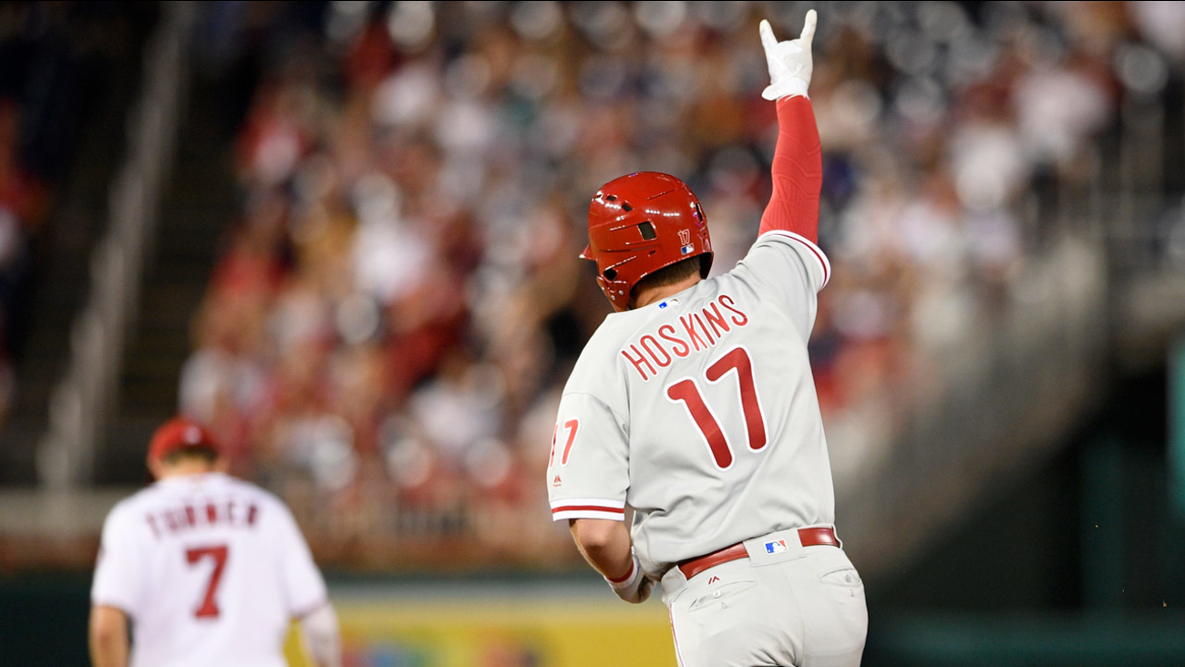 Washington Nationals Hit Themselves With The Ultimate Mush Against The Phillies