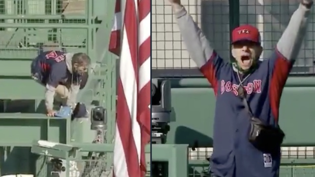 Some Massholes Break Into Fenway Park…..AGAIN AND CHAOS ENSUES