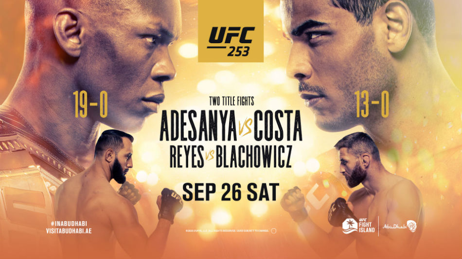 What To Expect From UFC 253: Adesanya vs Costa