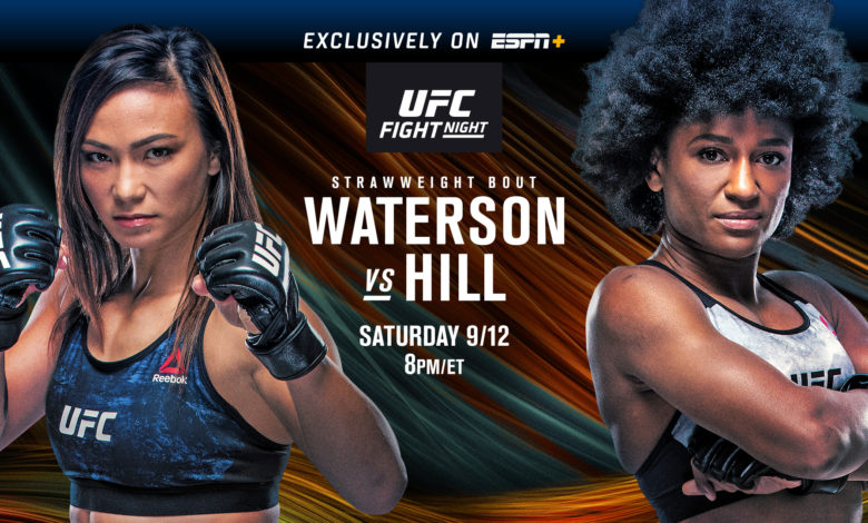 What To Expect From UFC Fight Night: Waterson vs Hill