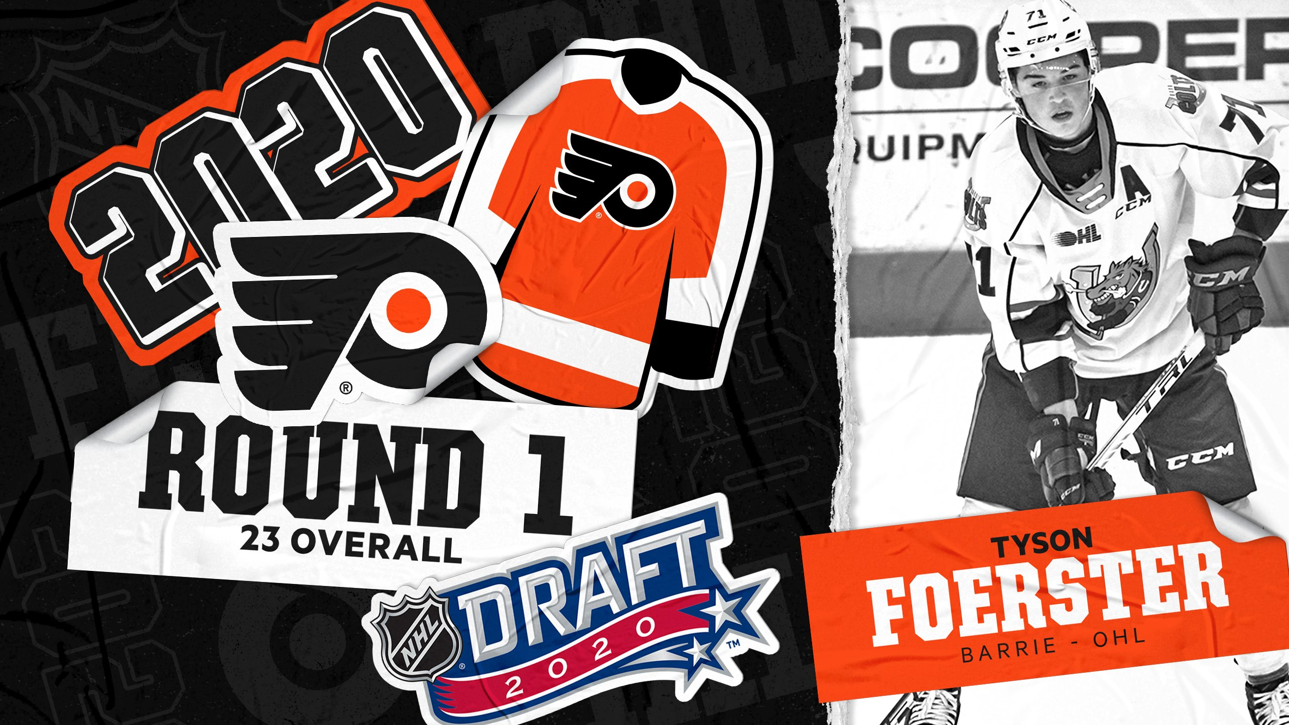 Flyers Draft Tyson Foerster At 23