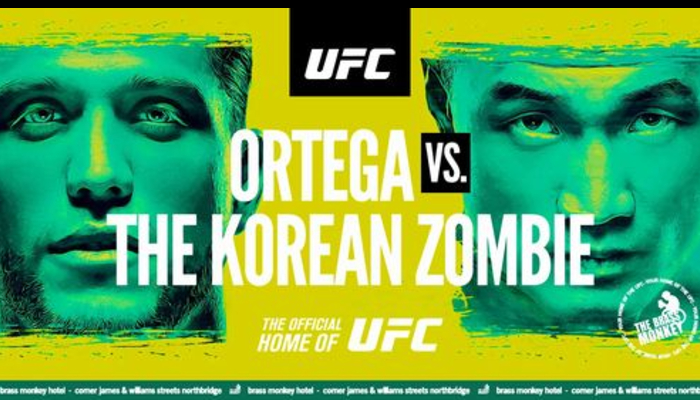 What To Expect From UFC Fight Island: Ortega vs Korean Zombie