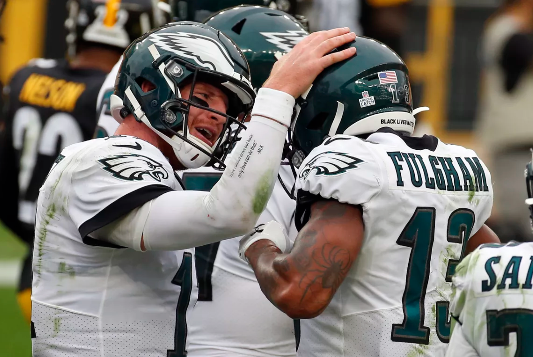 Carson Wentz, Second In The League Only Behind Josh Allen In One Interesting Stat