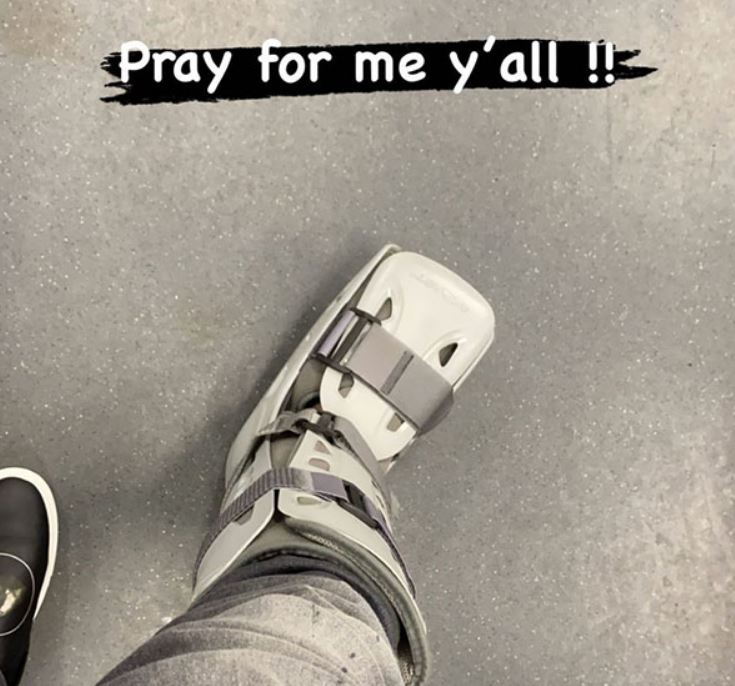 DeSean Jackson Is In A Boot And Might Be Lost For The Season