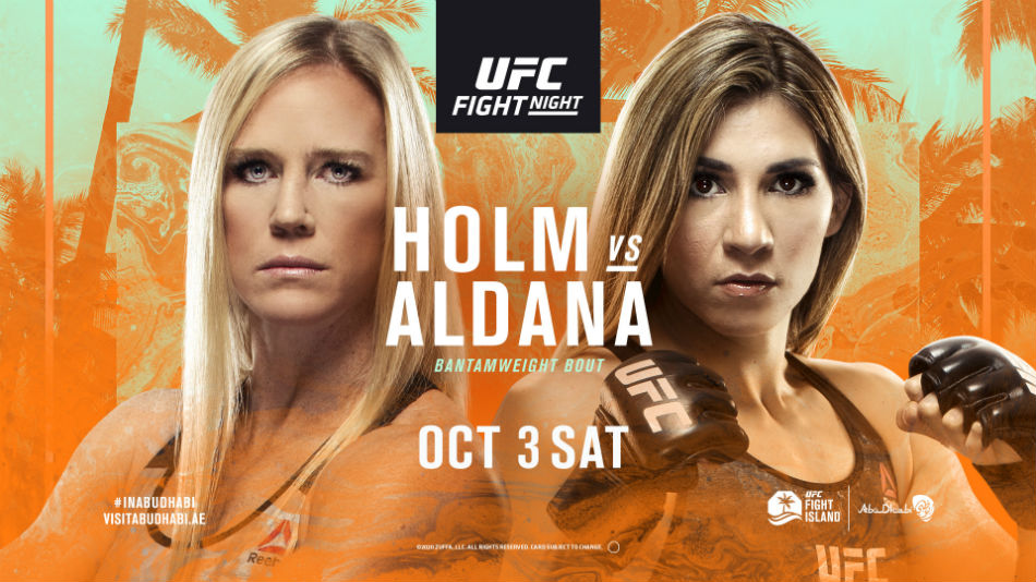 What To Expect From UFC Fight Night: Holm vs Aldana