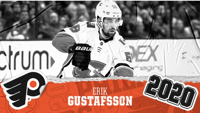 BREAKING:Flyers Sign Erik Gustafsson