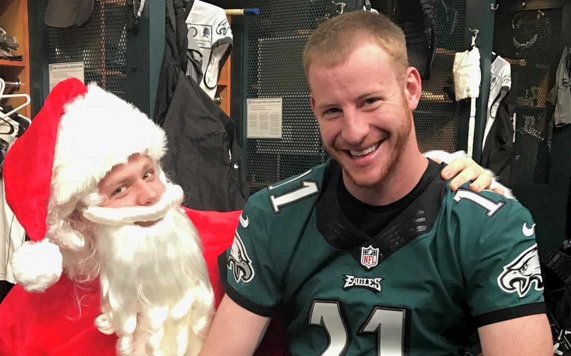 Video: Shannon Sharpe Compares Carson Wentz To Santa?