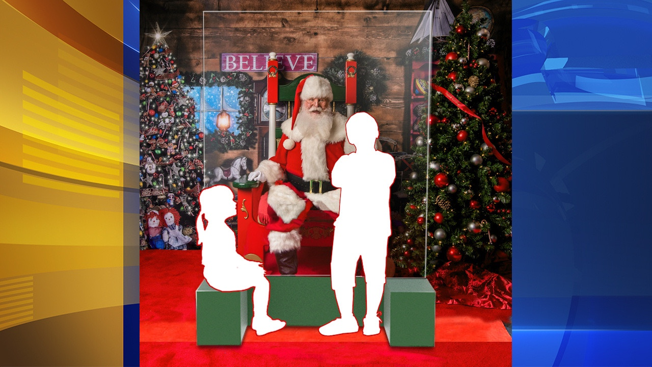 Philly Santa To Sit Behind Plexiglass Wall Due To COVID?