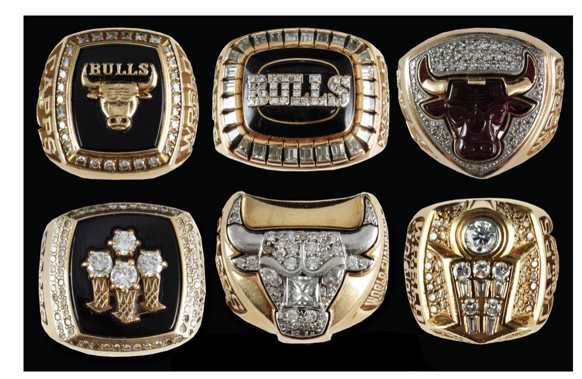 Bulls Championship Ring Set or 83,333 Chick Fil A Sandwiches – Who You Got?