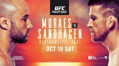 What to Expect From UFC Fight Night: Moraes vs Sandhagan