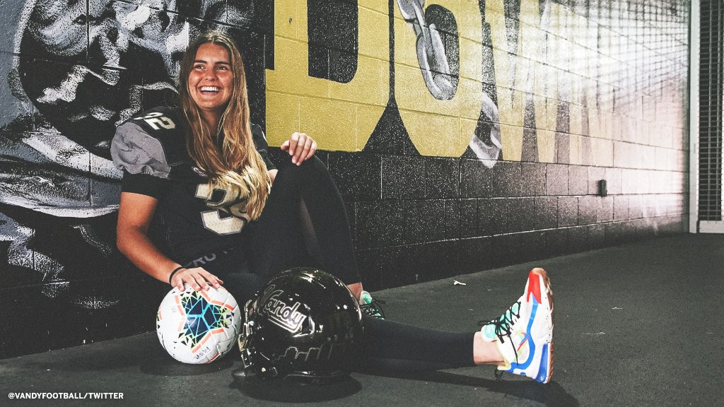 Shout Out to Sarah Fuller – The First Female in Power 5 Football History – @JamesSantore