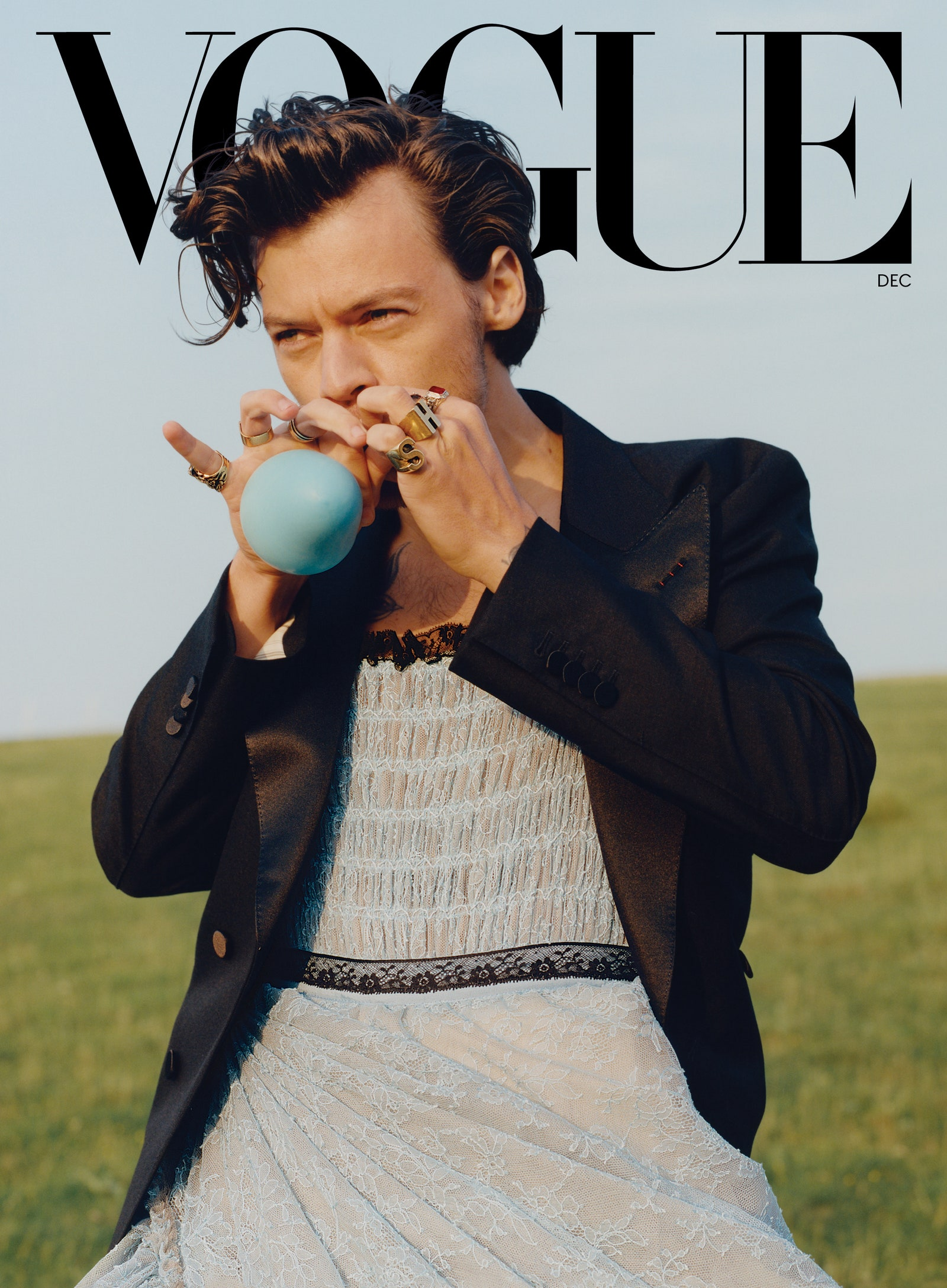 Is Harry Styles Destroying Masculinity By Wearing A Dress On The Cover Of Vogue?