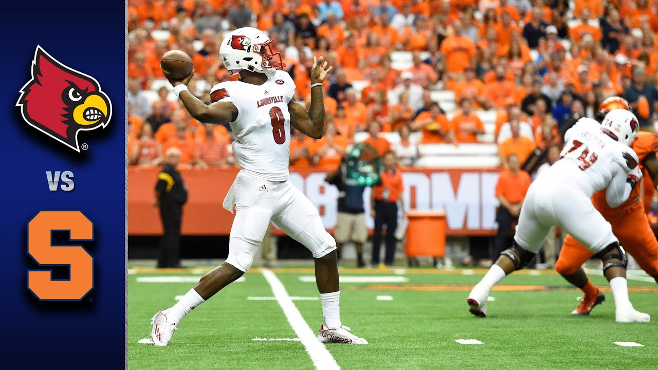 Friday Night College Football Winners (Syracuse @ Louisville) -@DailySportsViz