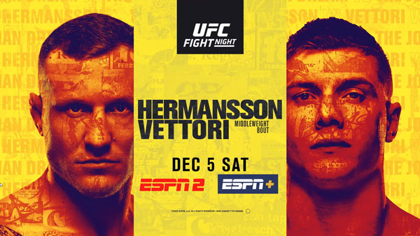 What To Expect From UFC Vegas 16: Hermansson vs Vettori