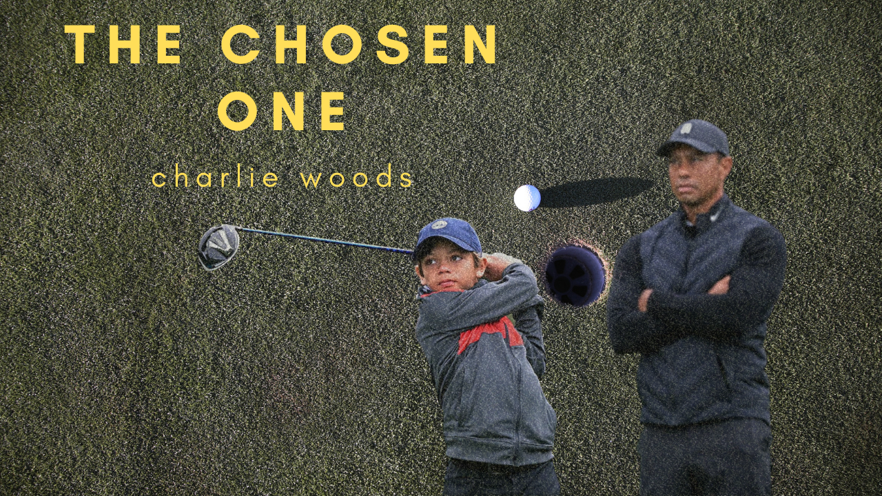 Baby Tiger (Charlie Woods) With A Swing Crafted By God Himself – @JamesSantore