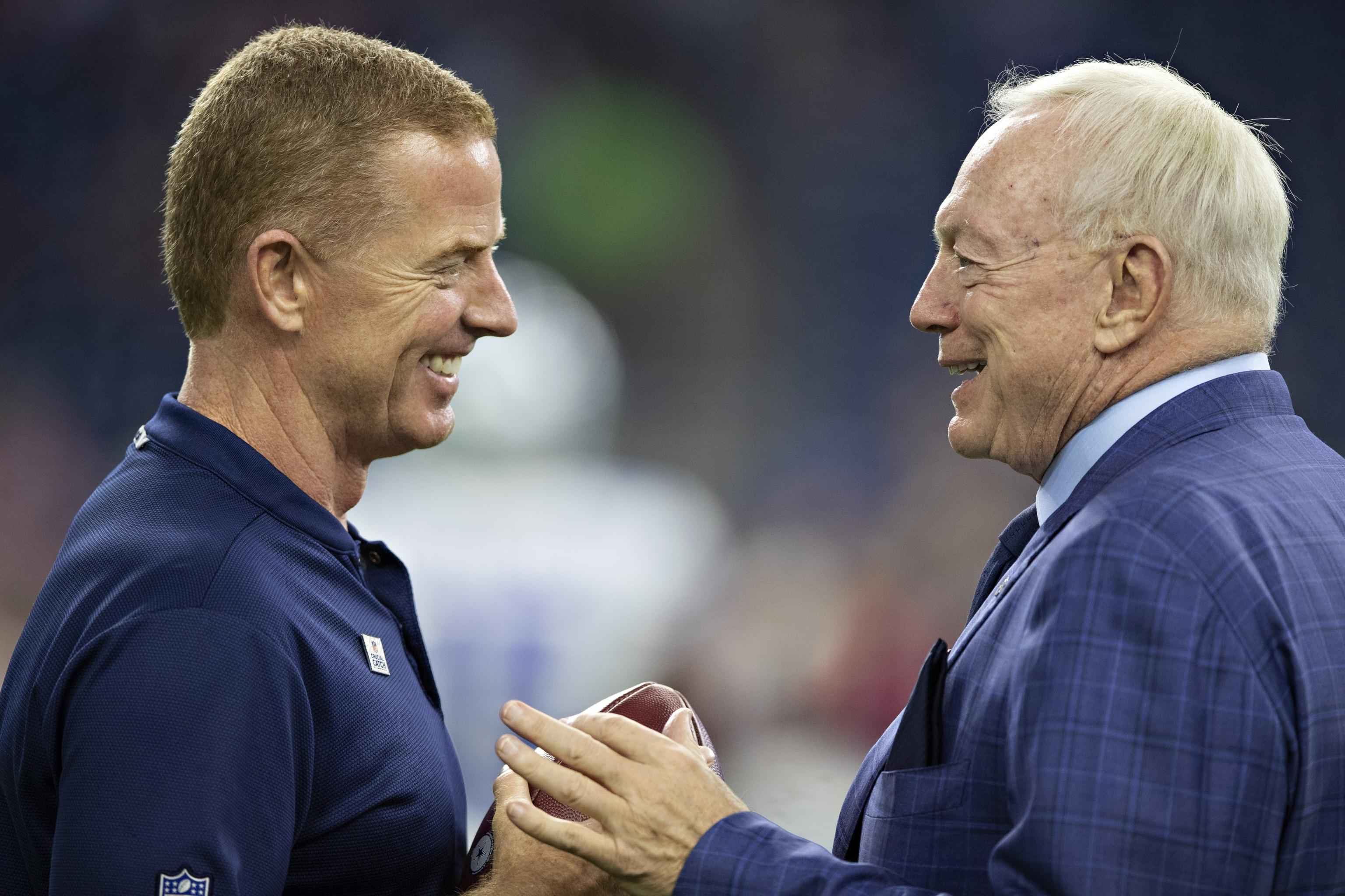 Jason Garrett, Dallas Cowboys… Reunion!
