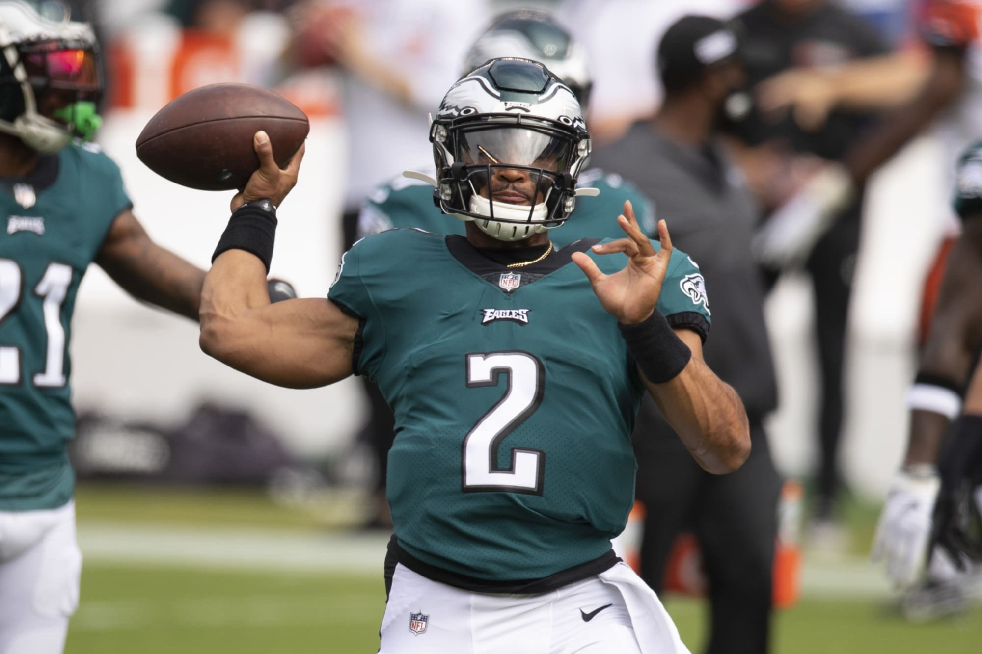 Jalen Hurts Will Remain The Eagles Starter The Rest Of The Season