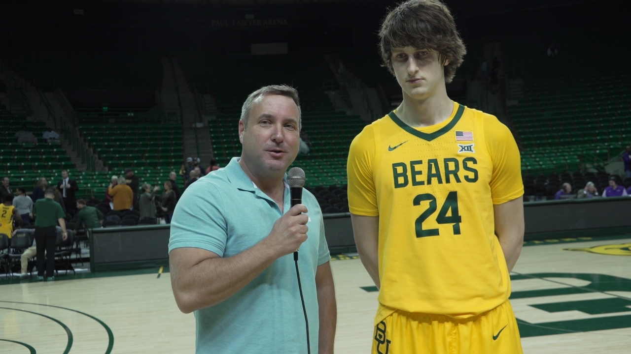 Baylor Basketball Player Grew Up in The Woods
