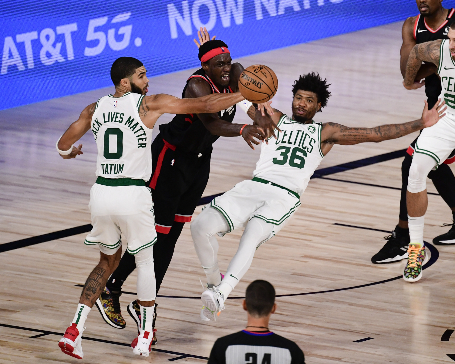 Pot, Meet Kettle: Marcus Smart Is Upset About Flopping In the NBA