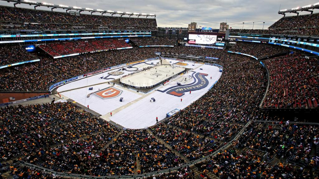 BREAKING: Flyers, Bruins, Knights, Avs Heading Outdoors?