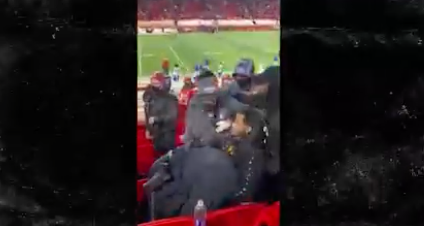 Trey Songz Violently Arrested At The Chiefs Bills Game Yesterday