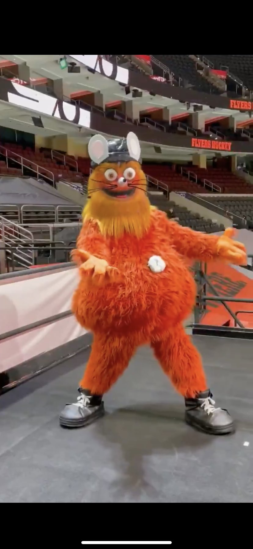 Gritty is heading to Broadway?!