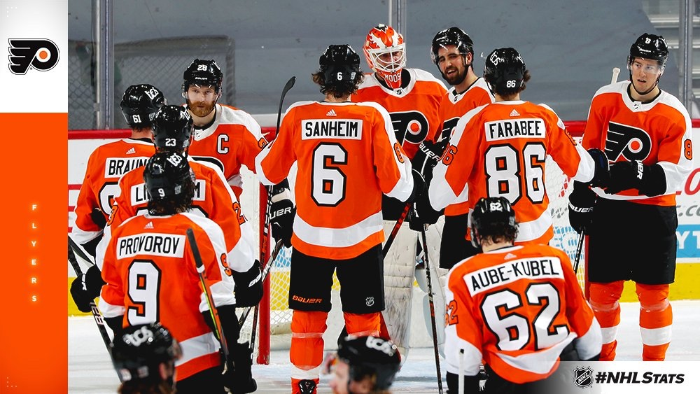 Flyers Win, Lose Frost And Myers