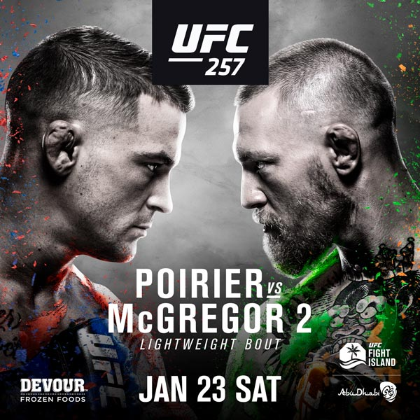 Previewing UFC 257: Poirier vs. McGregor 2
