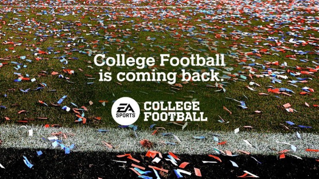Today Should Be a National Holiday, EA Sports NCAA Football Is Back