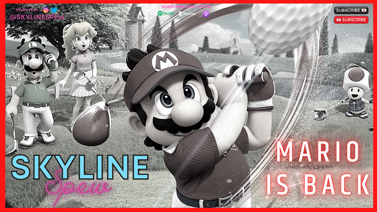 Mario is BACK – Mario Golf: Super Rush Coming Out in June – @JamesSantore