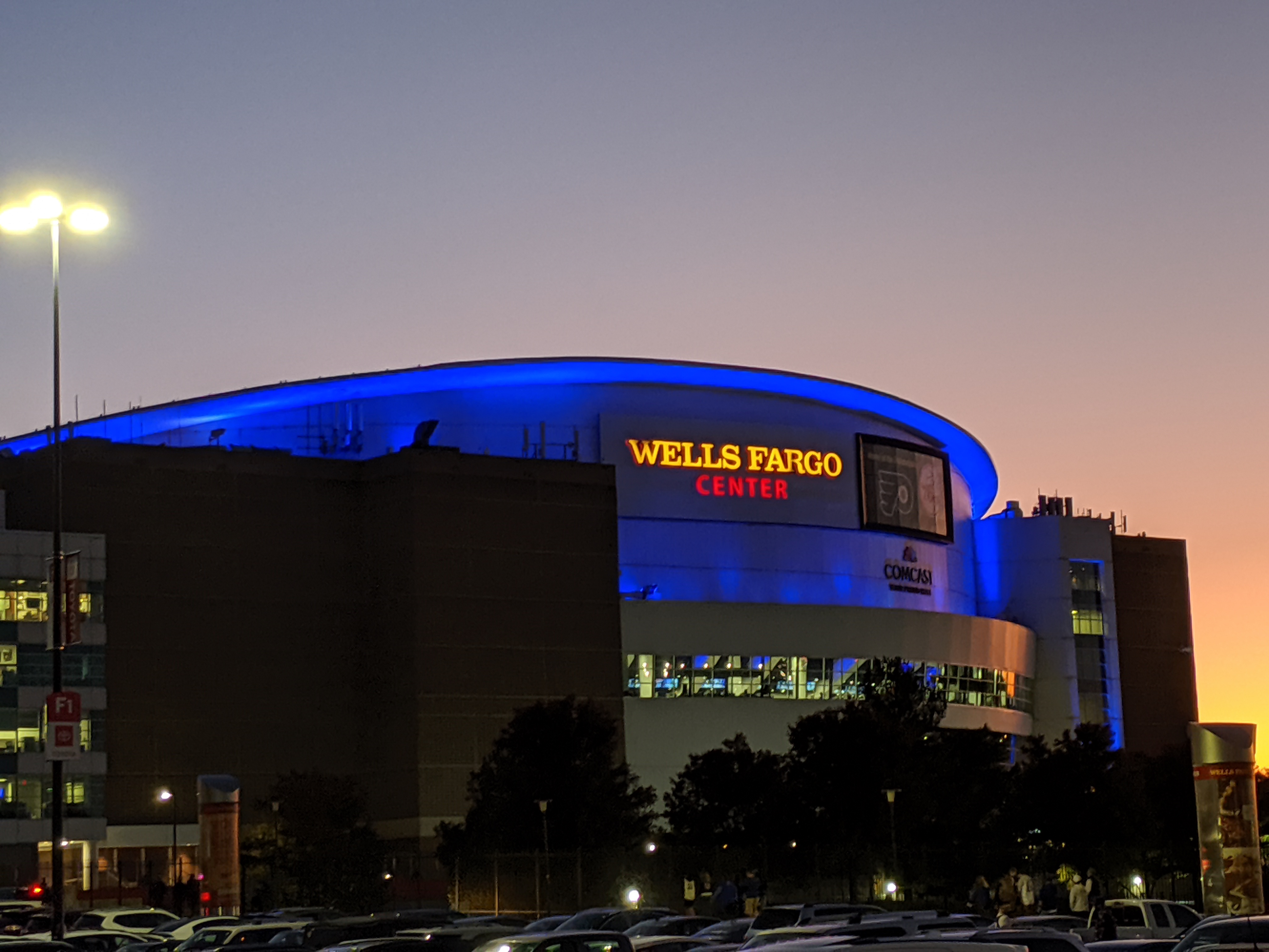 Wells Fargo Center To Allow Fans!