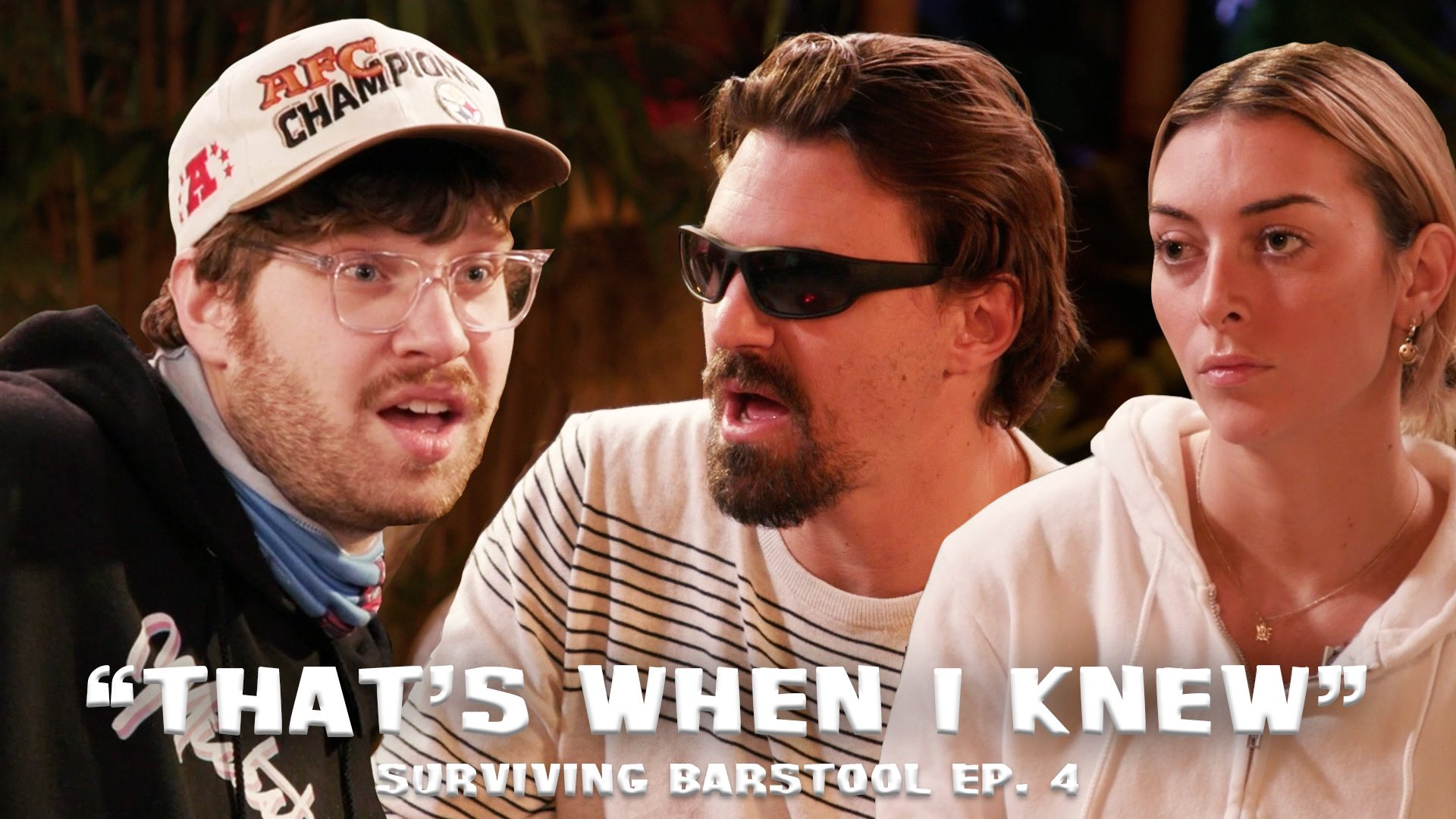 Surviving Barstool Episode 4 Power Rankings: Can We Get A Tommy Chant Going In The Chat?