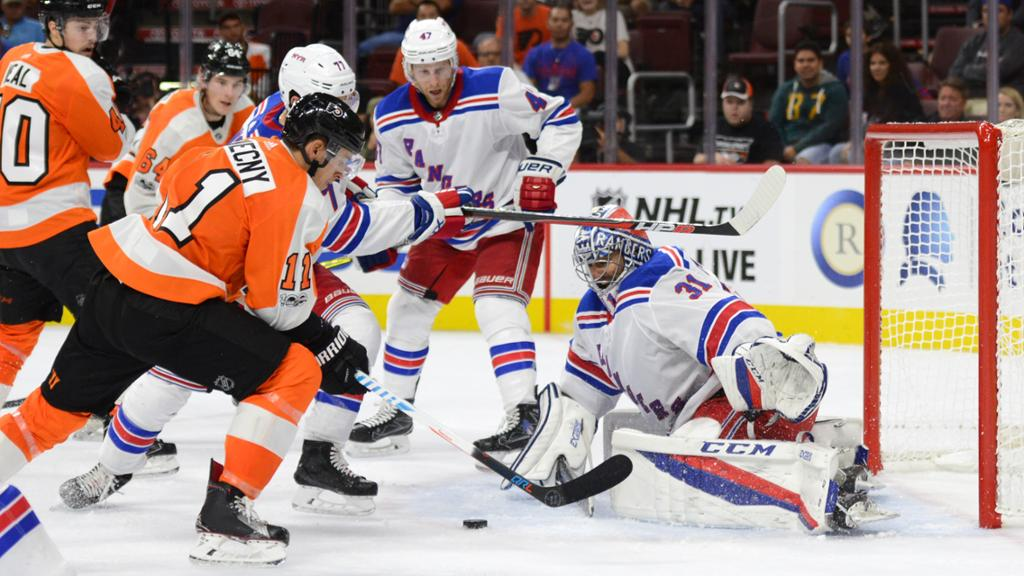 Wake Up Philadelphia! Flyers vs Rangers Gameday Preview