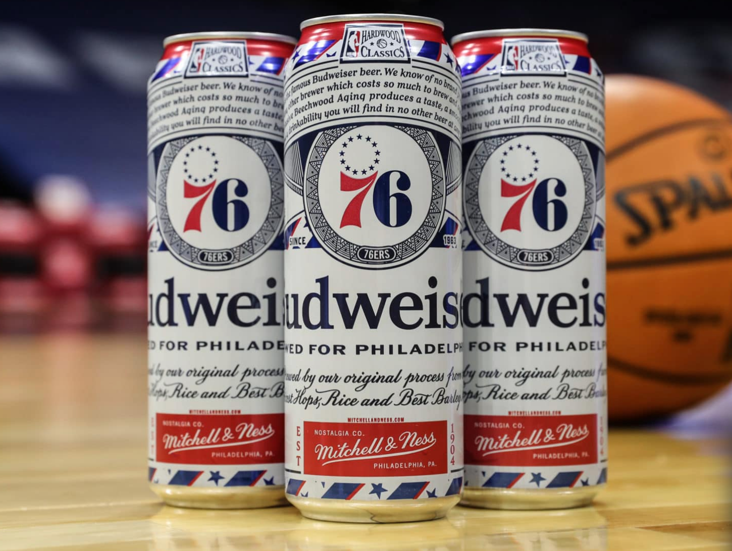 Budweiser Releases Sixers Vintage Cans And They Are Sweet