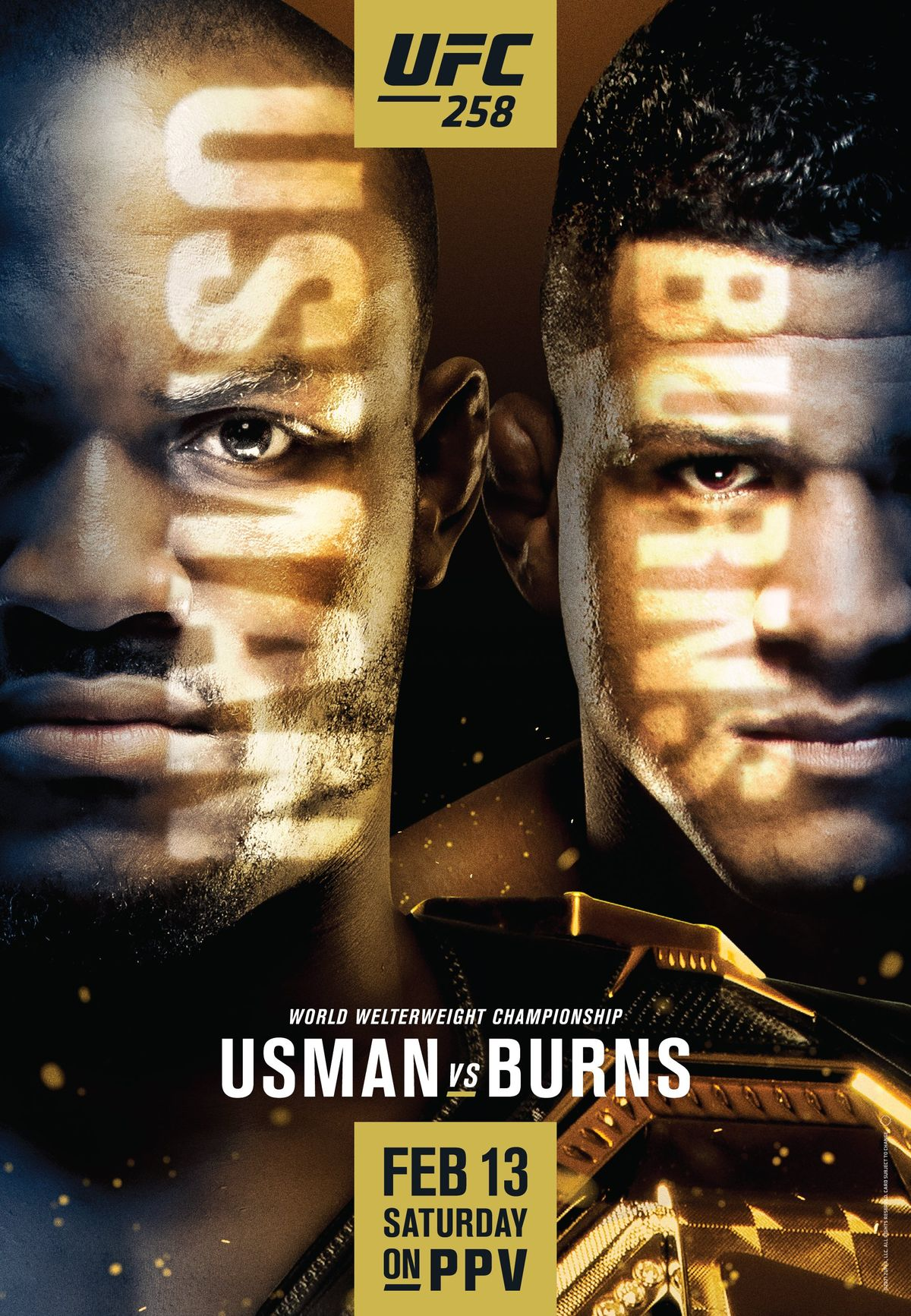 Previewing UFC 258: Usman vs Burns