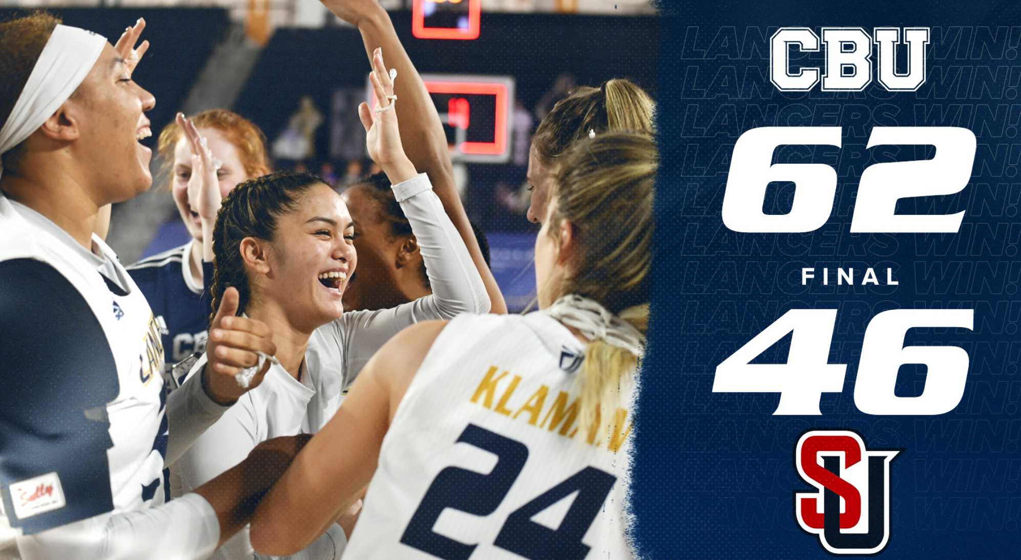California's CBU Finishes With Perfect Record But Won't Make The NCAA Tournament (@CBULancers)