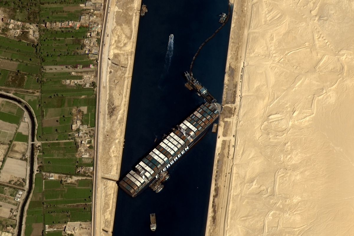 We Are Having A Shortage Of Sex Toys Because The Suez Canal Is Clogged