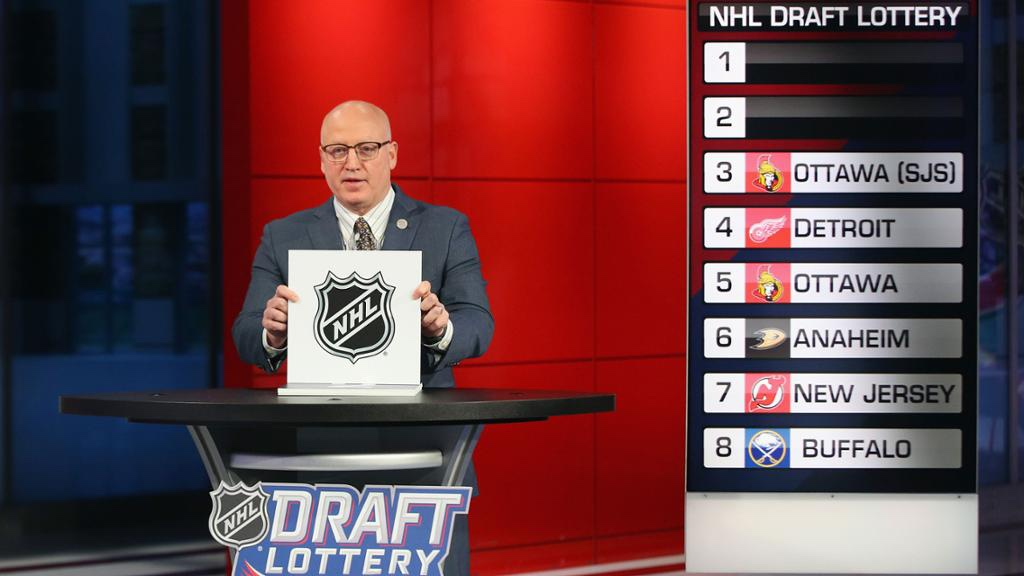 NHL Changes Draft Lottery