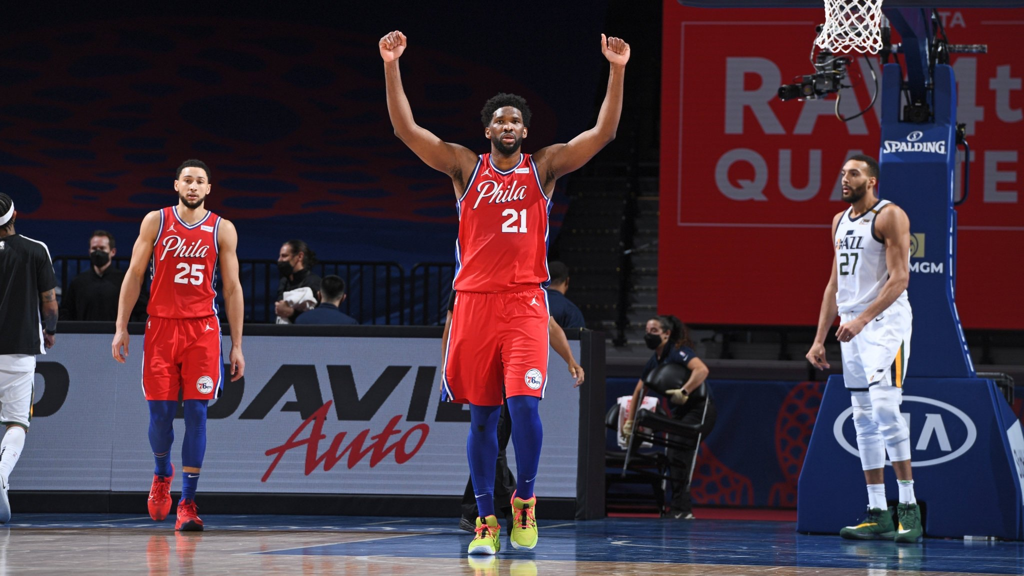 Five Thirty Eight Gives The Sixers The Best Chance To Make The Finals