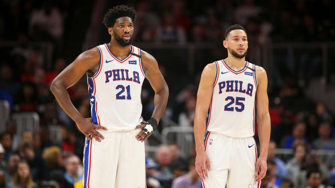 Joel Embiid And Ben Simmons Unlikely To Play In The 2021 NBA All-Star Game