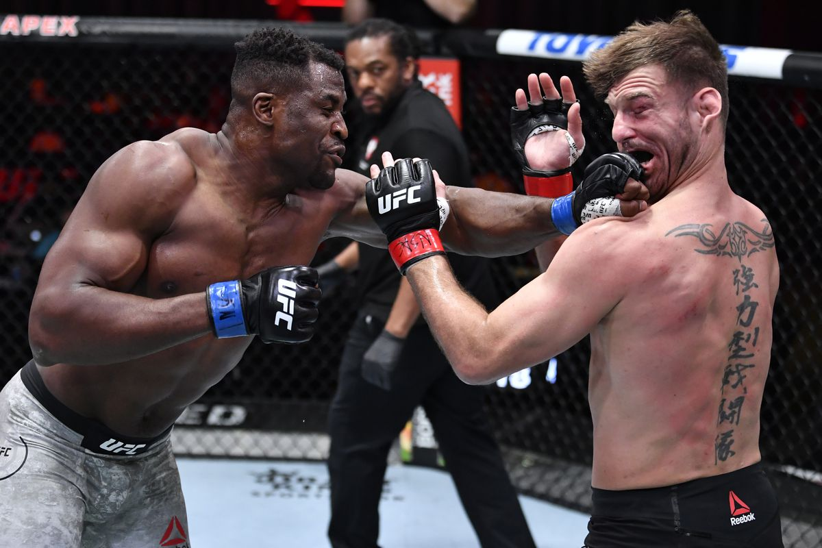 Francis Ngannou Is The Baddest Man On The Planet