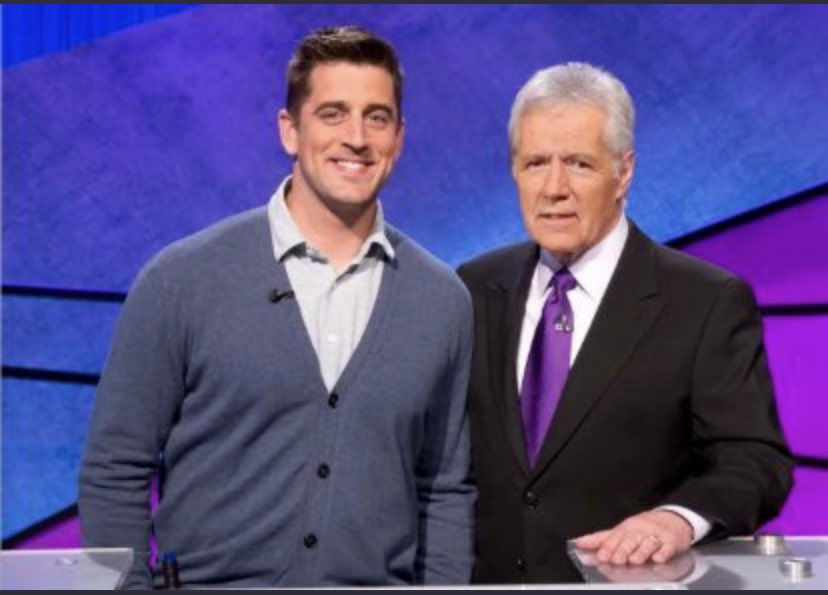 Aaron Rodgers New Host Of Jeopardy.
