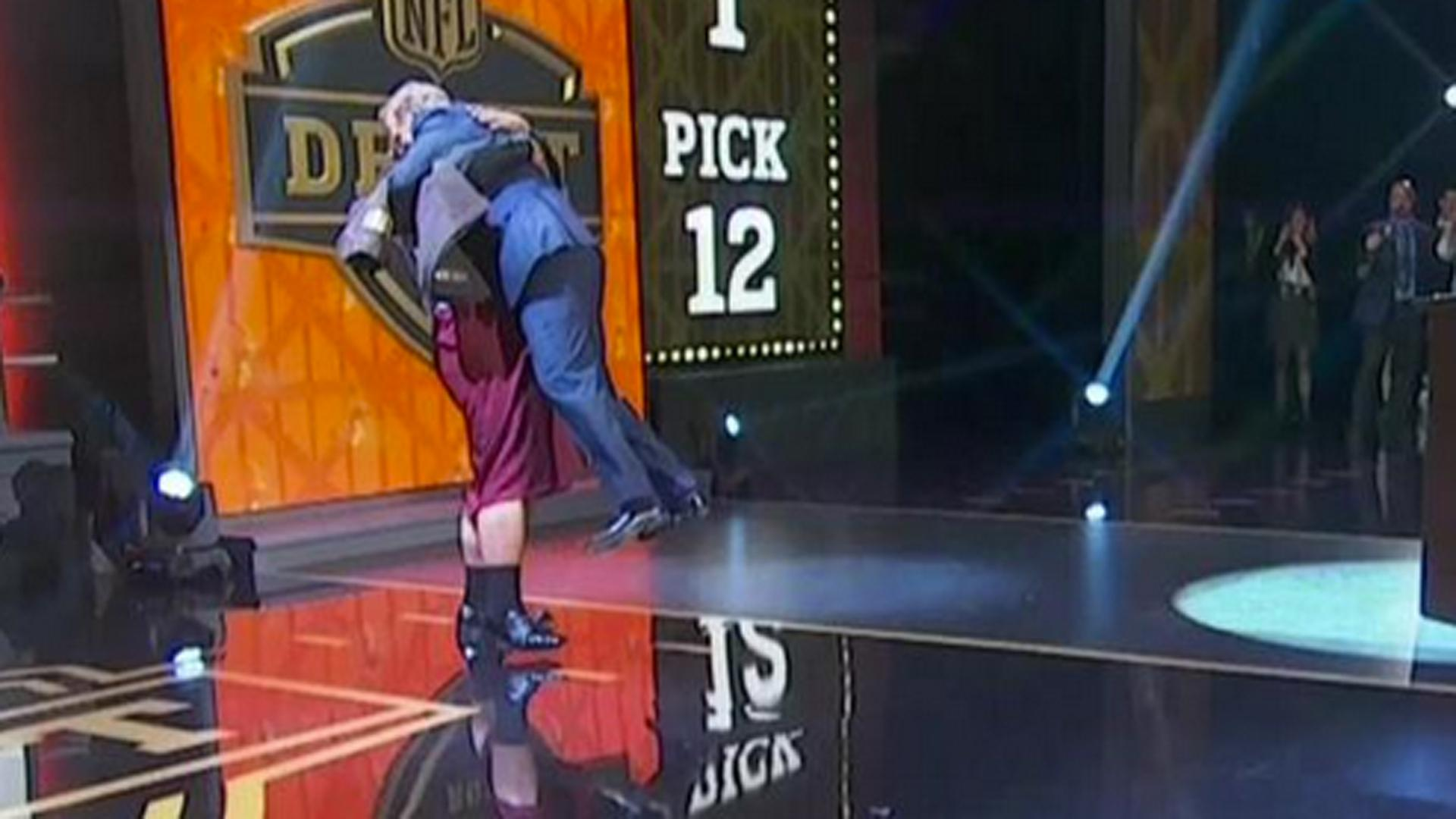Great News, Roger Goodell Is Fully Vaccinated Just In Time To Hug All Of This Years Draftees