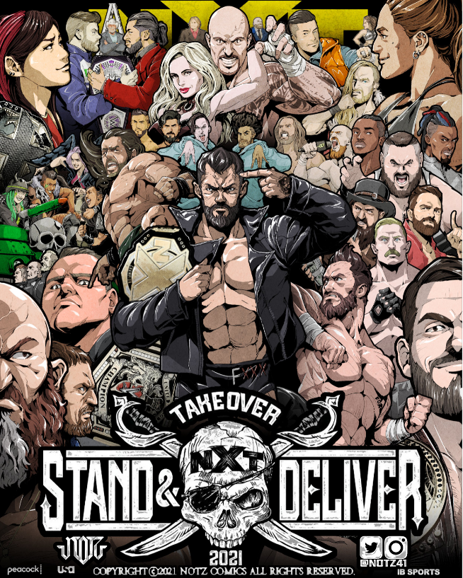 NXT Takeover: Stand & Deliver Night One Preview